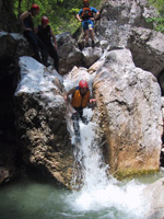 Canyoning inklusive Höhle