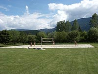 Volleyball Platz - Camp beim Campingplatz Weißenbach