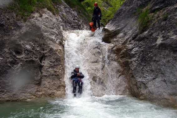 Canyoning Österreich