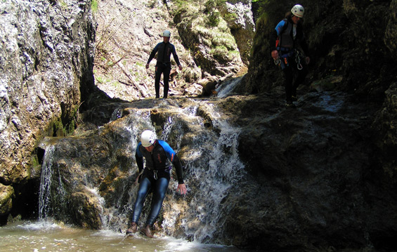 Canyoning Gesäuse