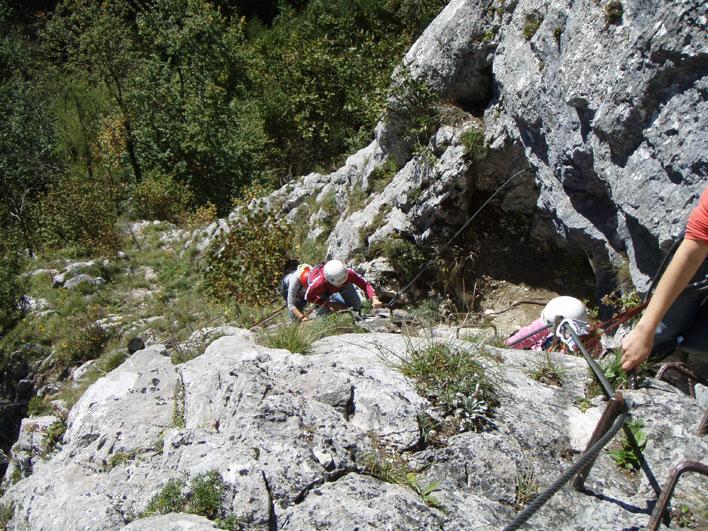 Klettersteig Johnsbach : Alpin funpark gesäuse